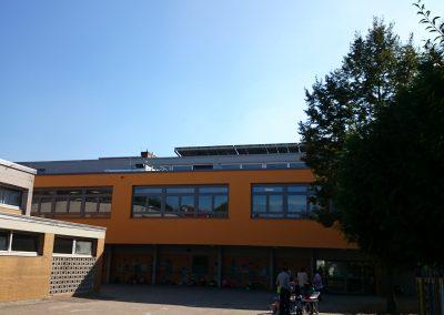 Hans Joachim Gelberg Grundschule Hofansicht