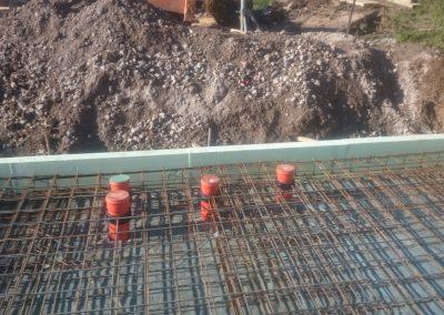 Druckwasserdichte Rohrdurchführungen in einer Bodenplatte
