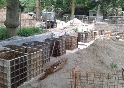 Zoo Heidelberg Umgestaltung des Bärengeheges in Erdmännchenanlage
